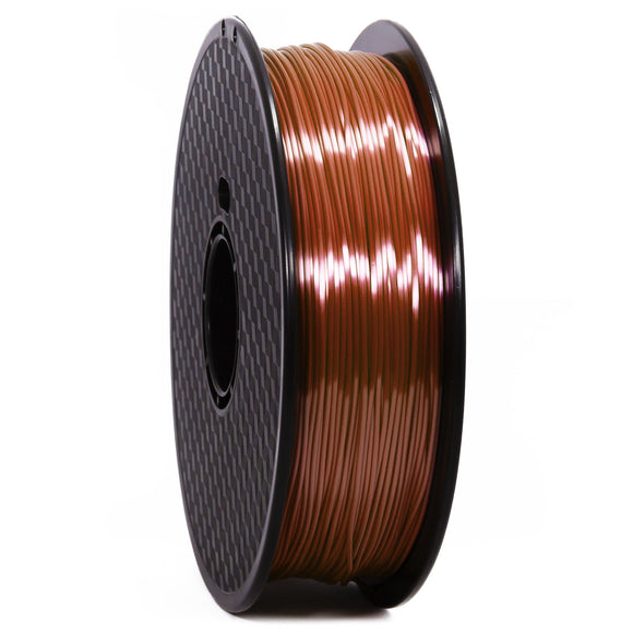 PLA Silk Marron Premium Wanhao - 1.75mm, 1 Kg