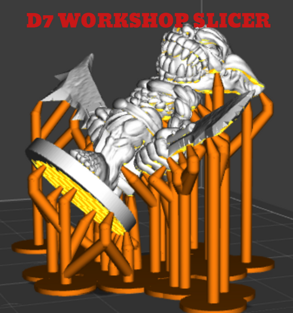 D7 WORKSHOP SLICER ( ENGLISH & FRANCAIS ) - wanhao3D