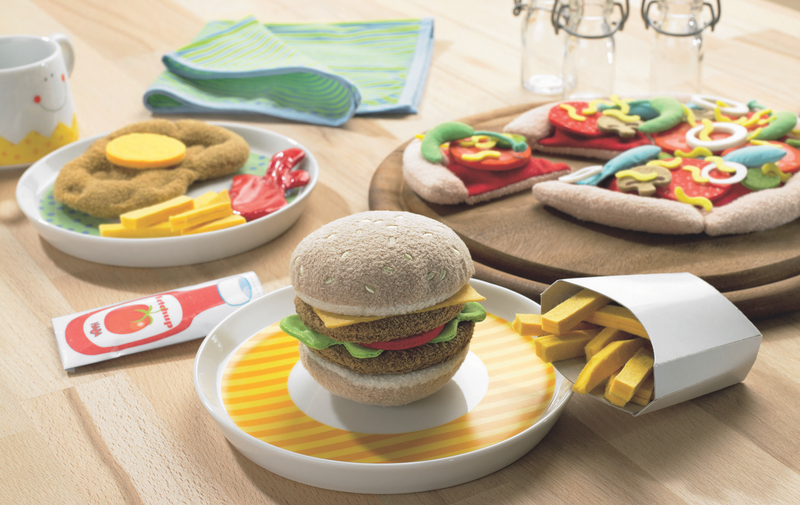 HABA Hamburger and French Fries Play Set - Da Da Kinder Store