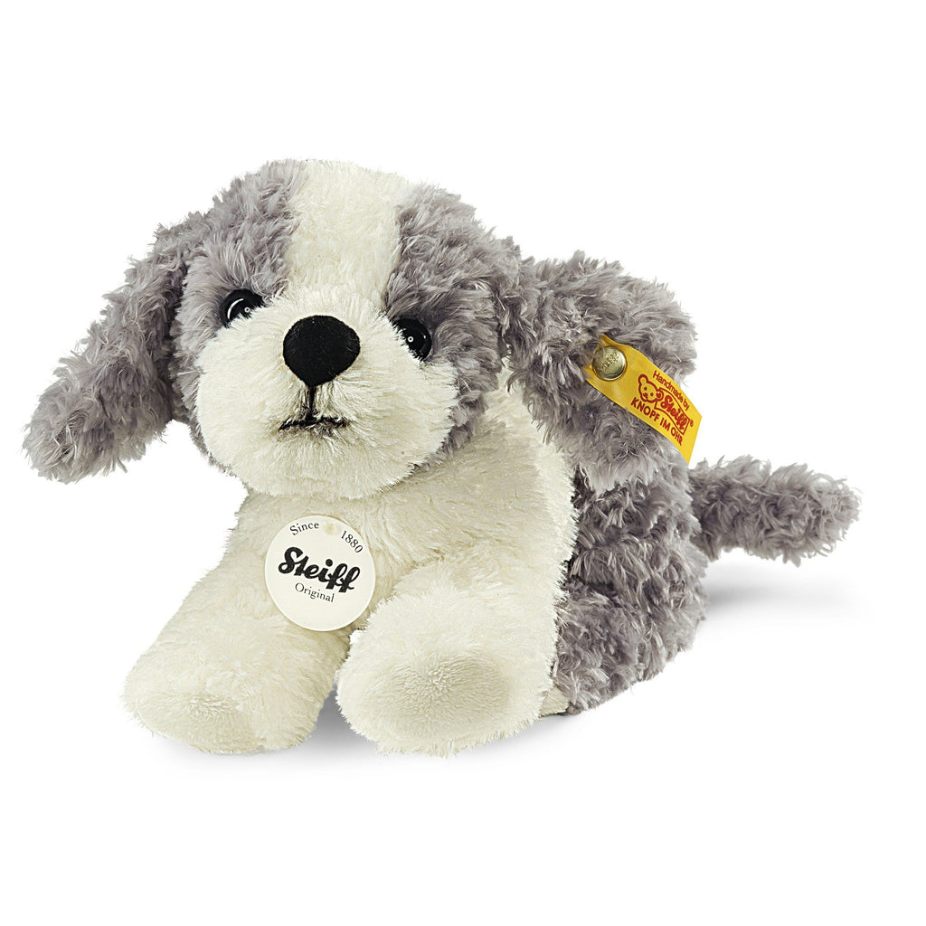 Steiff Little Tommy Puppy Grey/White