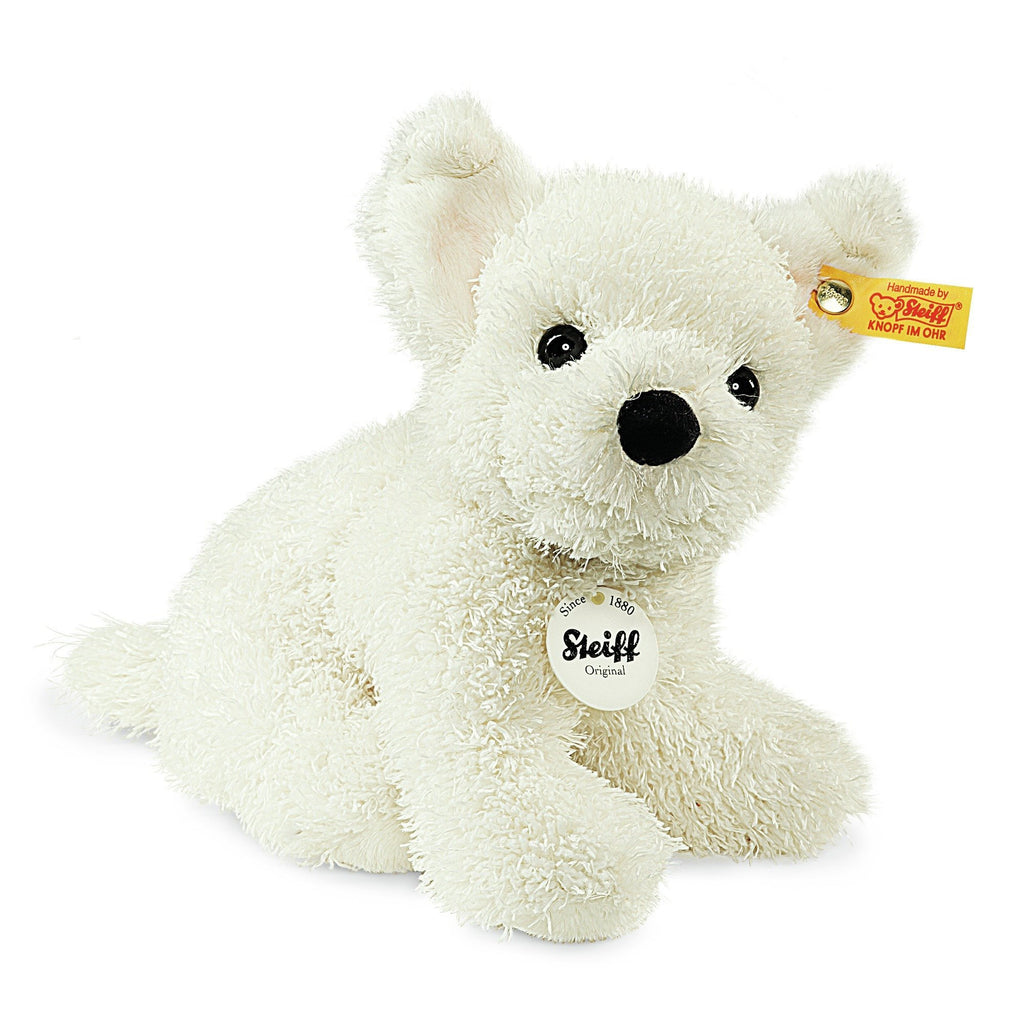 Steiff Little Sammy Puppy White