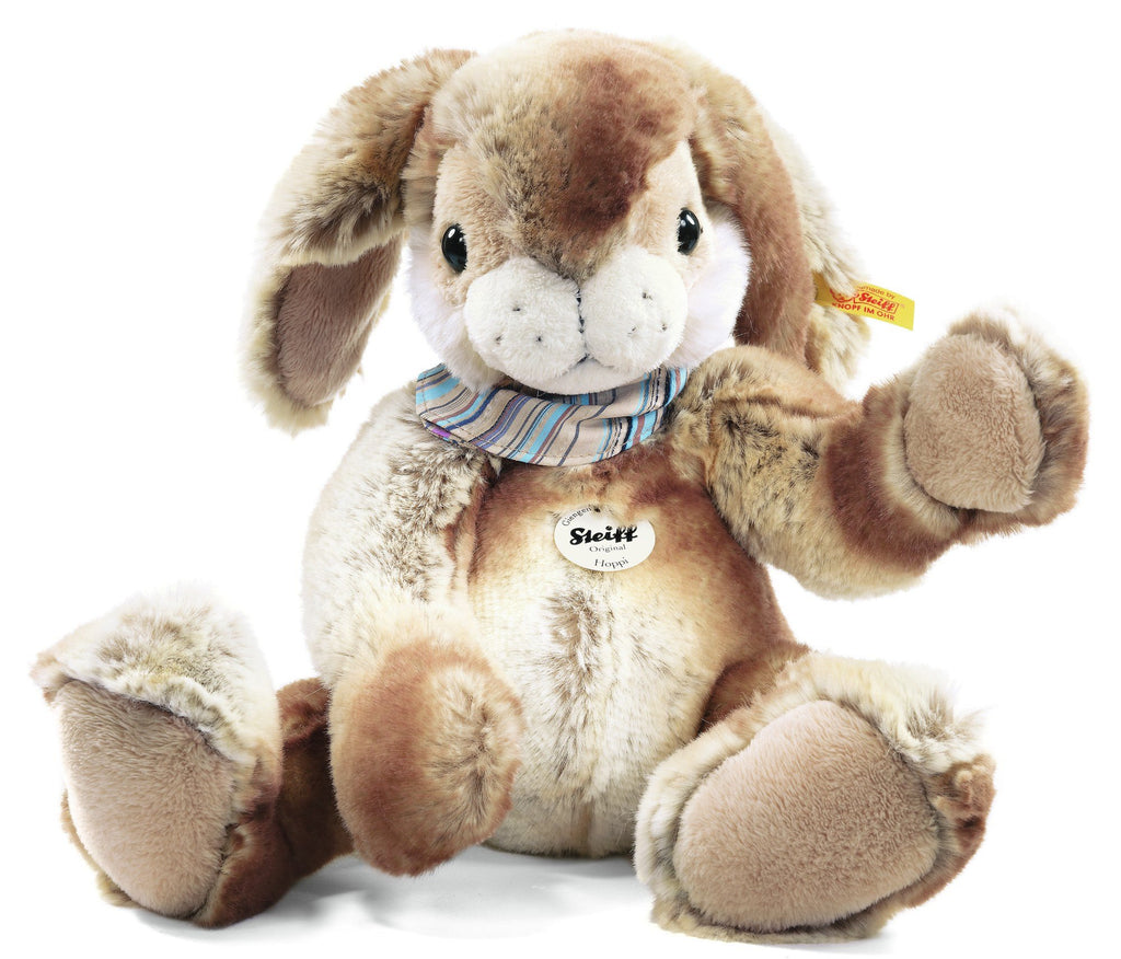 Steiff Hoppi Dangling Rabbit Beige/Brown