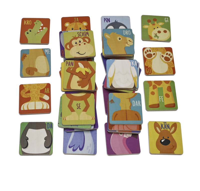 Weizenkorn Syllabic Game Animals