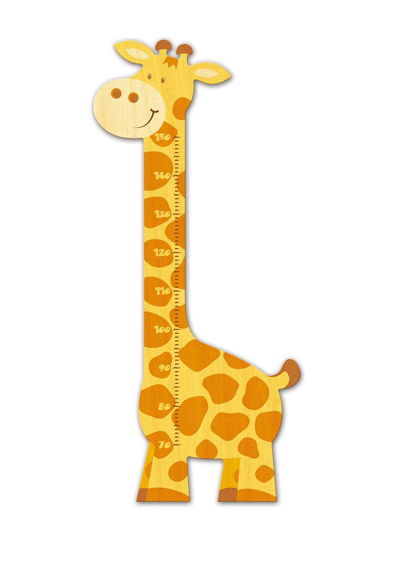 Weizenkorn Wooden Height Chart, Giraffe