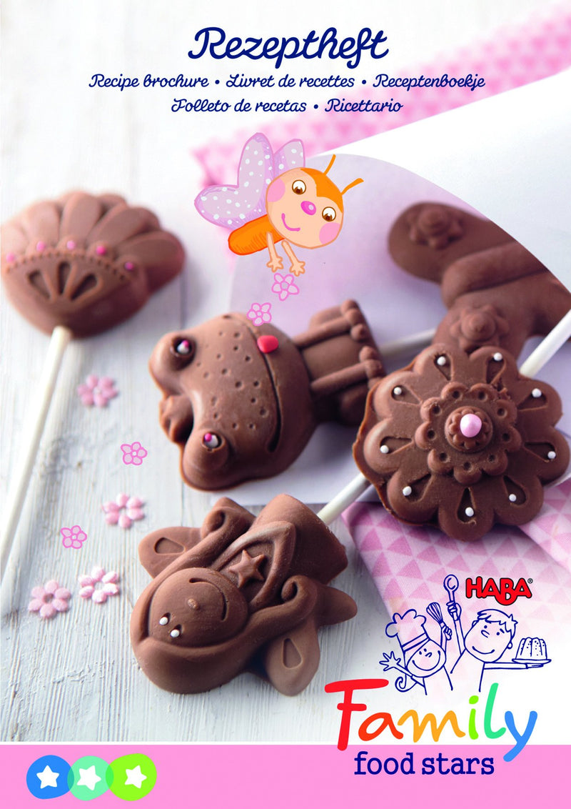 HABA Silicone mould Chocolate Lollipops Fairies' Party