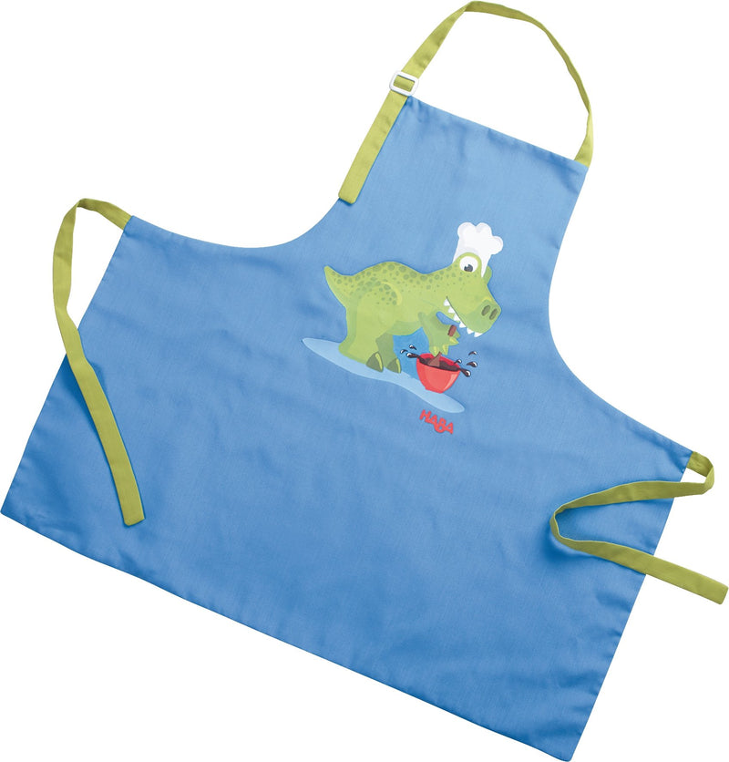 HABA Children's Pinafore Baking Dinosaur