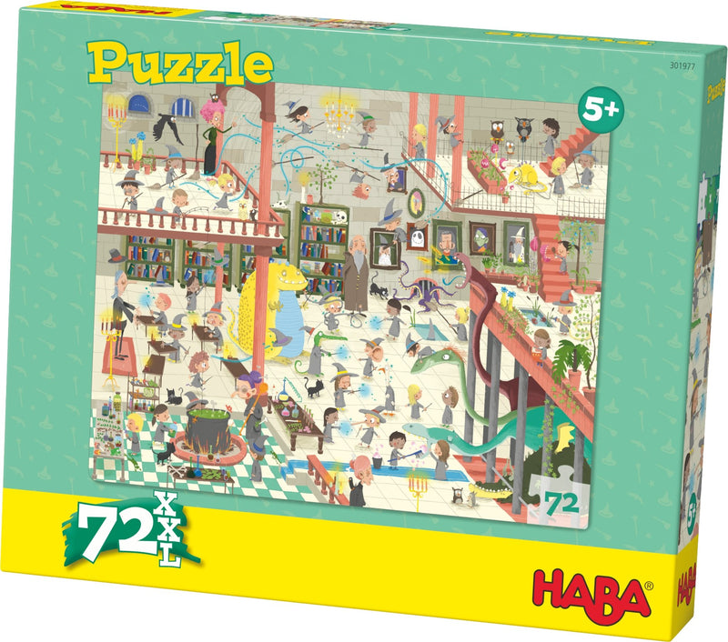 HABA Puzzle Wizards' School