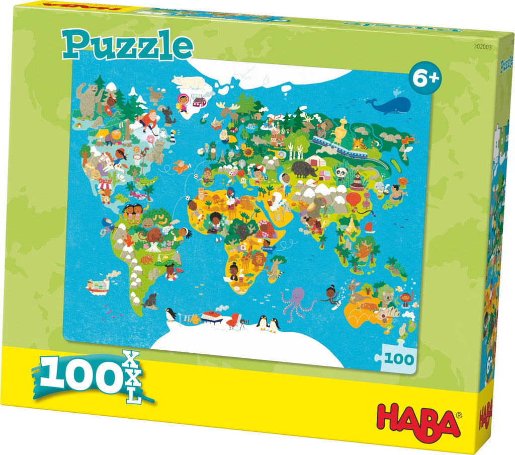 HABA Puzzle World Map