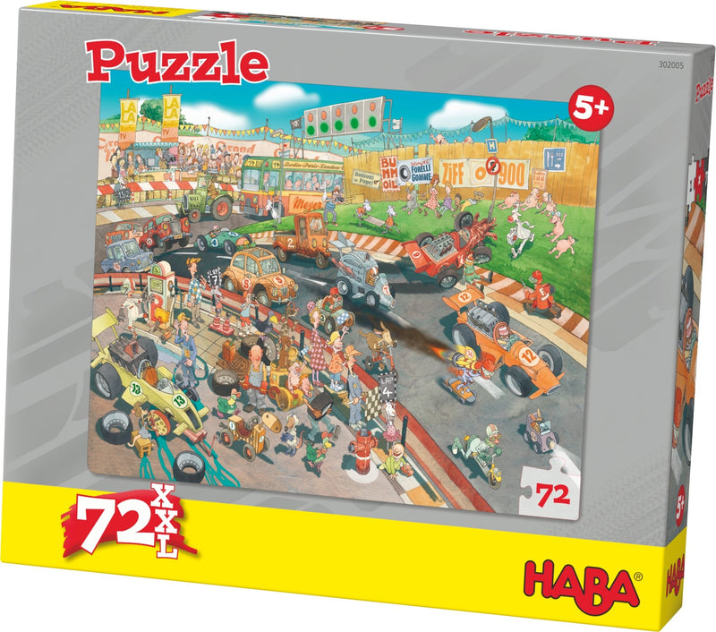HABA Puzzle Car Race