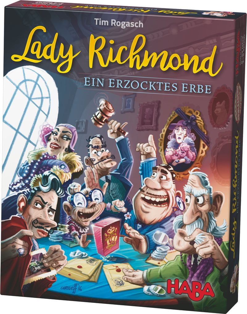 HABA Lady Richmond – Fast fight for inheritance