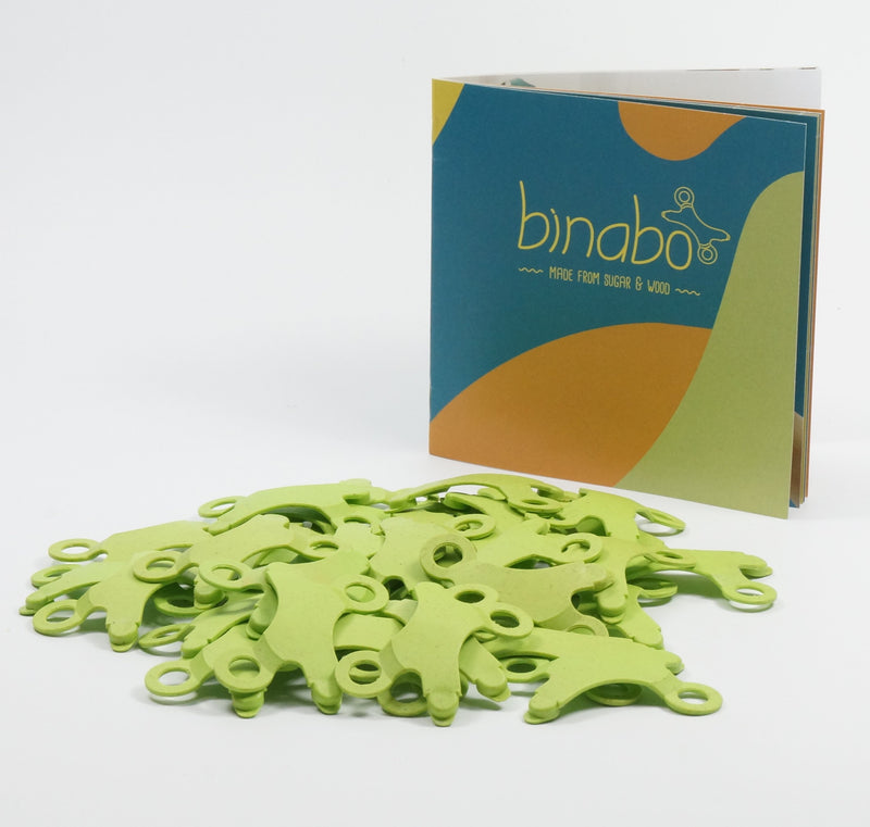 TicToys Binabo 36 Chips, Green