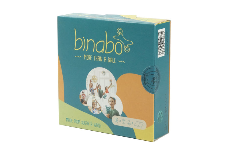 TicToys Binabo 36 Chips, Blue