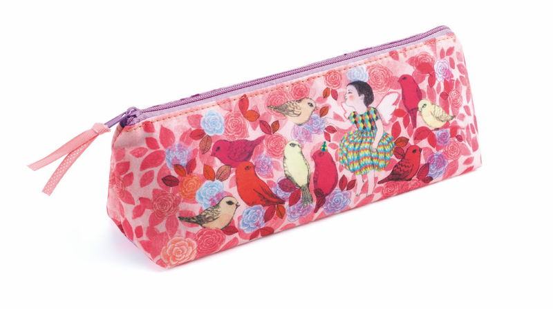 Djeco Trousse- Pencil Case Elodie - Da Da Kinder Store Singapore