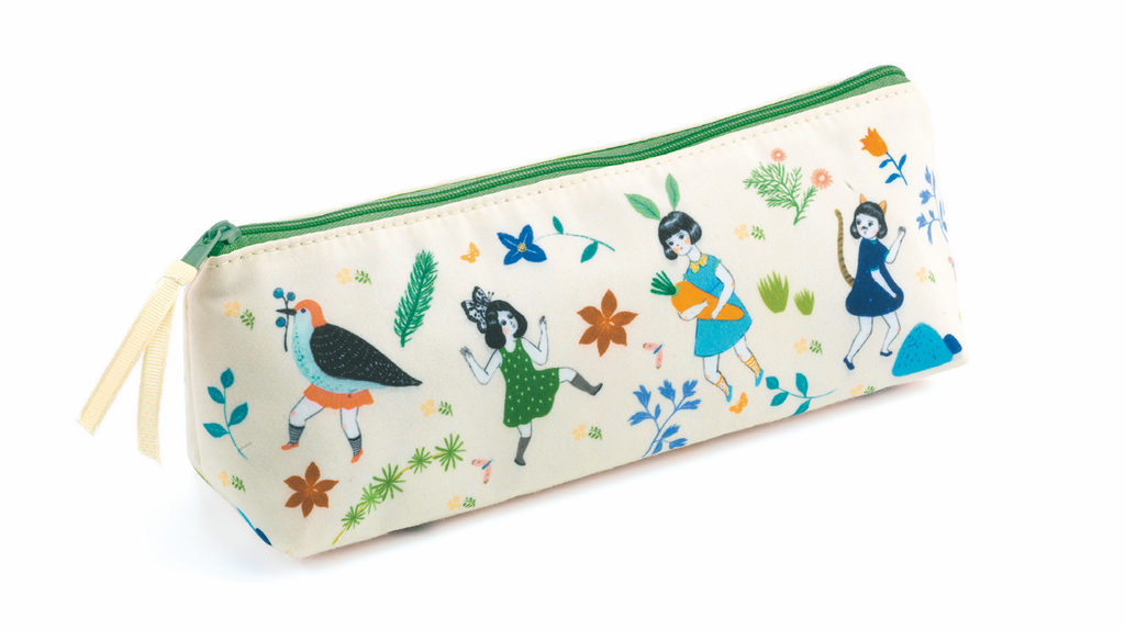 Djeco Trousse- Pencil Case Chichi - Da Da Kinder Store Singapore