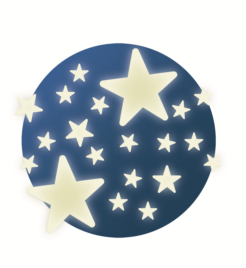 Djeco Wall Sticker - Stars - Da Da Kinder Store Singapore