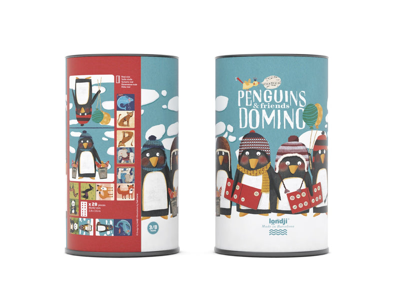 londji Domino Penguins