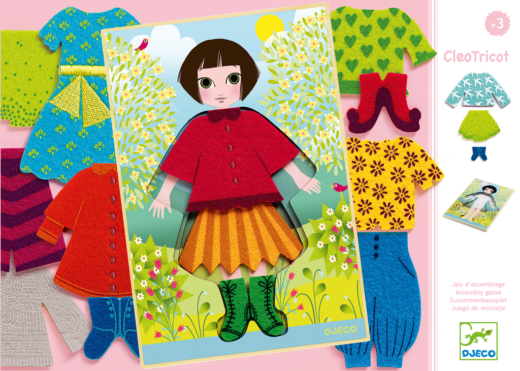 Djeco Dressing Up Game - Cleo Tricot - Da Da Kinder Store Singapore