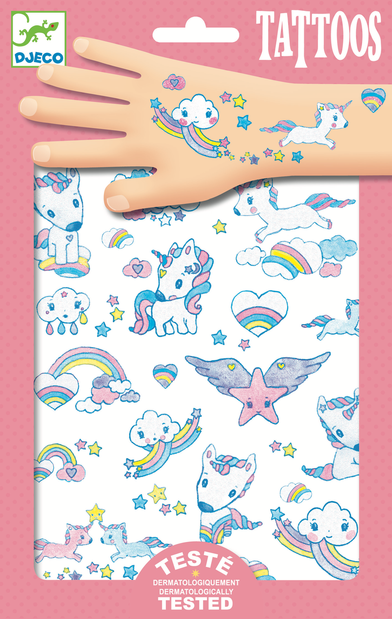 Djeco Tattoos - Unicorns - Da Da Kinder Store Singapore