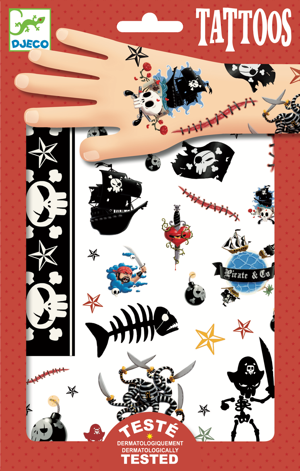 Djeco Tattoos - Pirates - Da Da Kinder Store Singapore