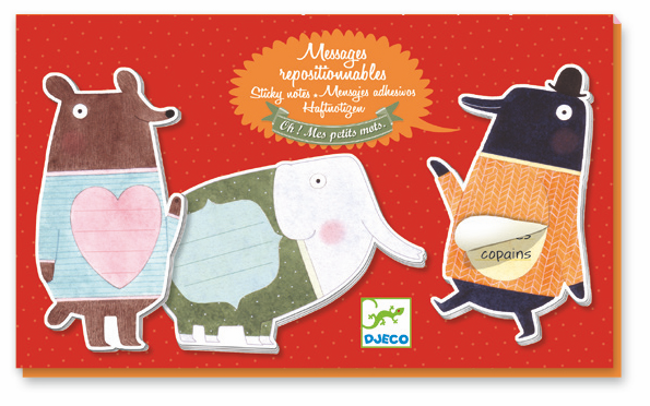 Djeco Stationery Set - Under My Sweater - Da Da Kinder Store Singapore