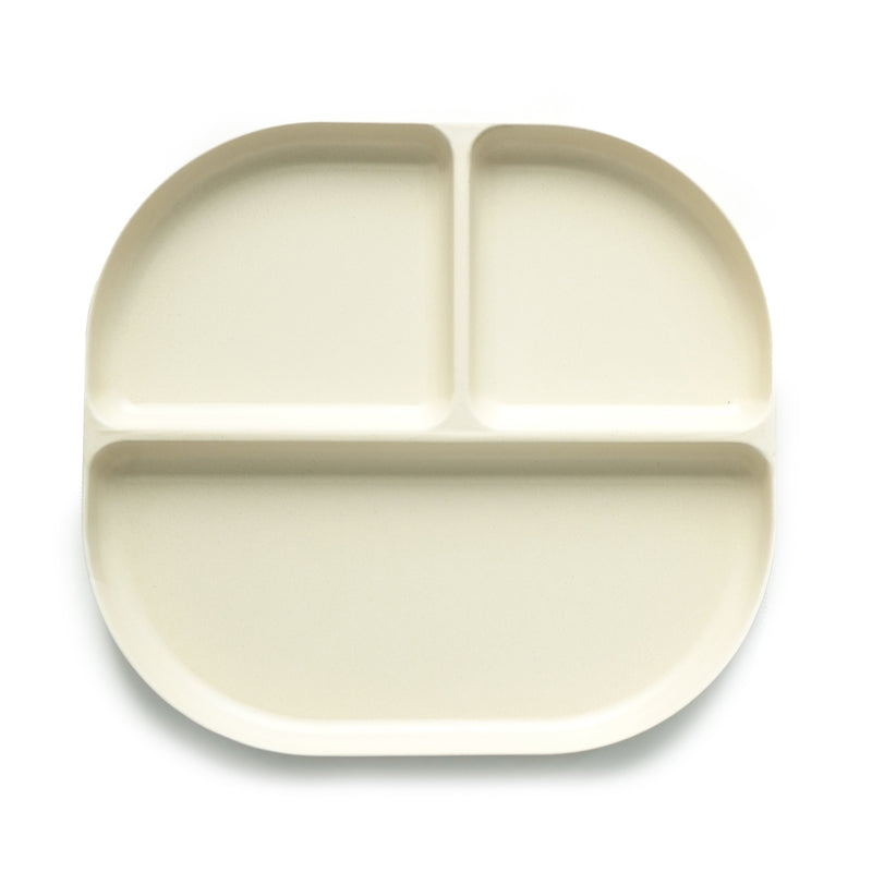 EKOBO Bambino Divided Tray, White - Da Da Kinder Store Singapore