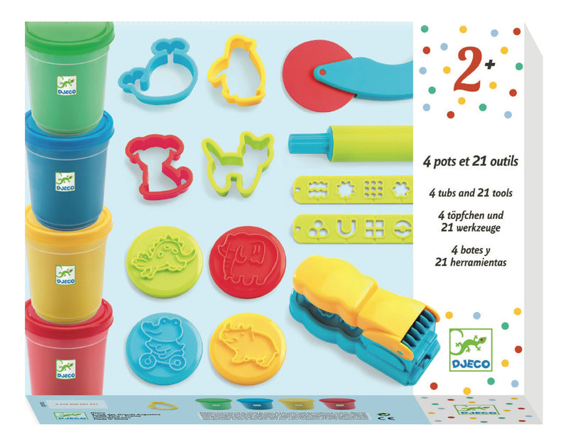 Djeco Light Clay - Introduction To Dough - Da Da Kinder Store Singapore