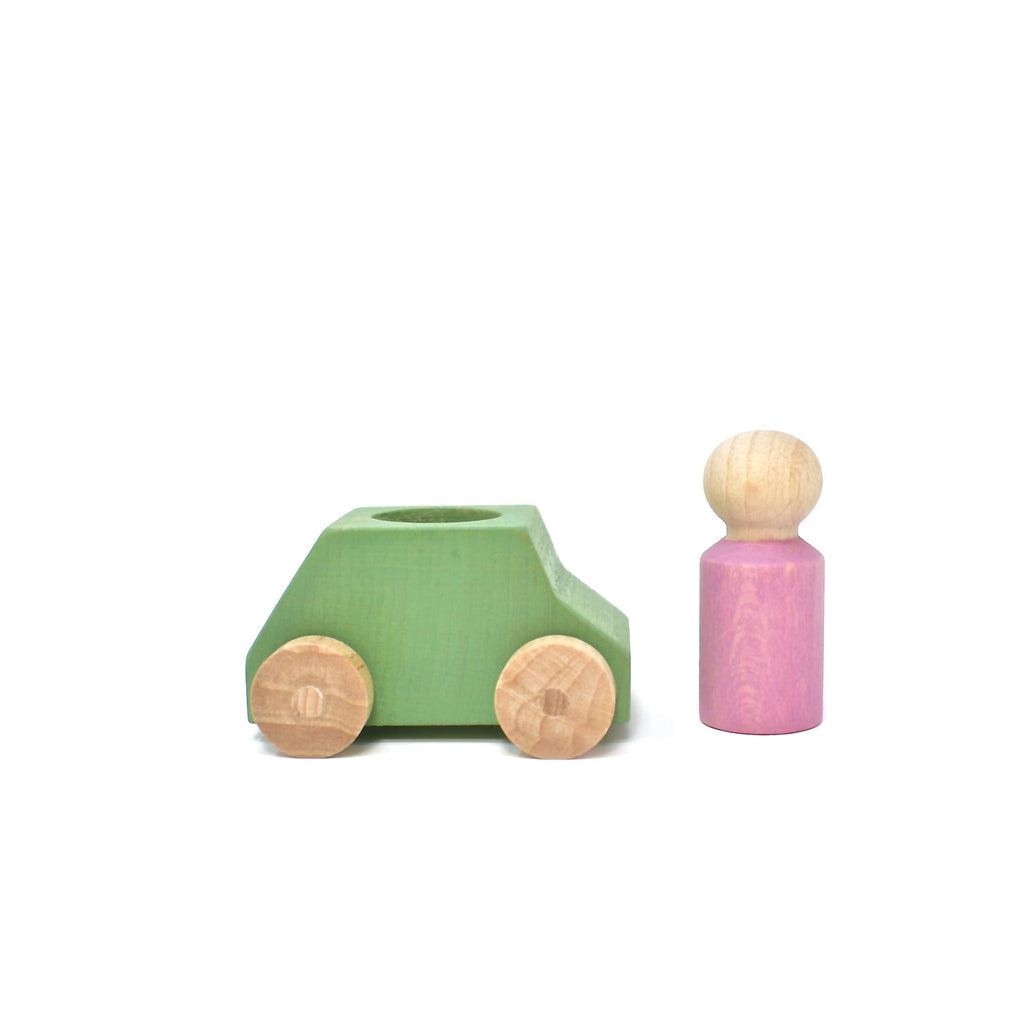 lubu lona Mint Wooden Toy Car