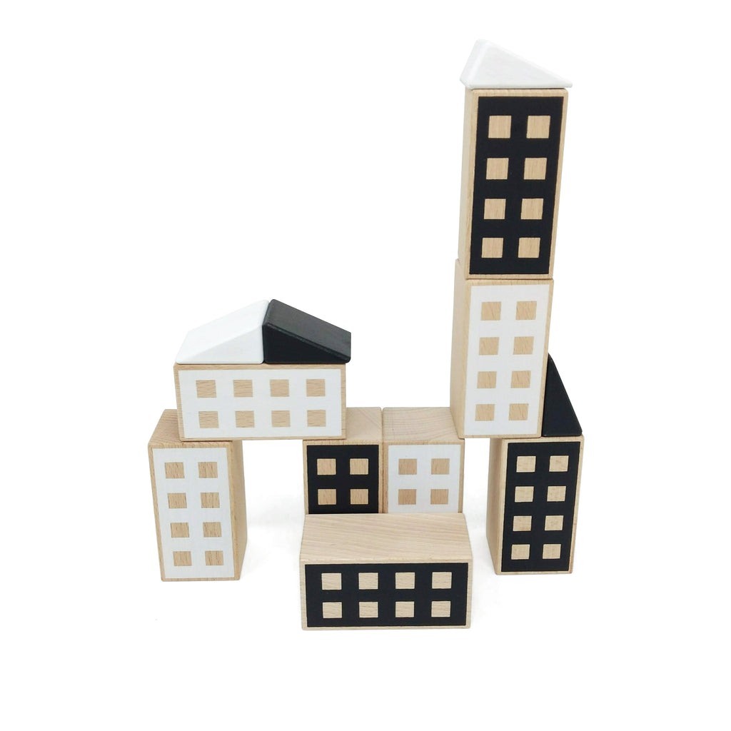 lubu lona Happy Houses Black&White