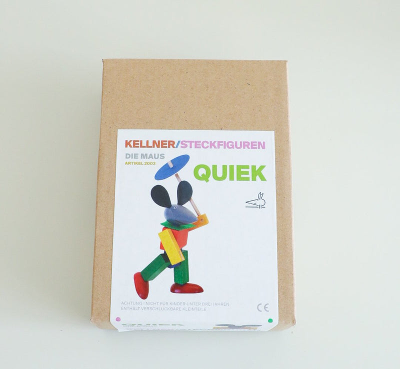 Kellner Steckfiguren Quiek the Mouse