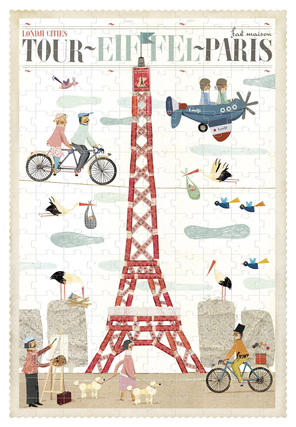 londji Puzzle Paris 200 pcs
