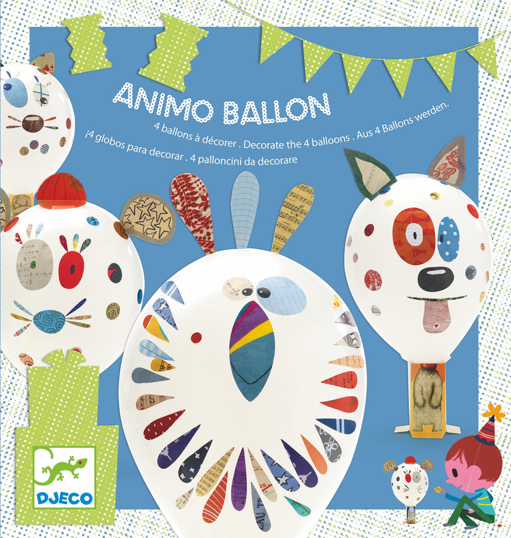 Djeco Birthday Game - Animo Balloon - Da Da Kinder Store Singapore