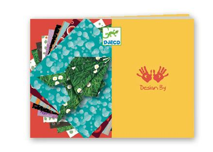 Djeco Origami - Origami Papers Comics 100 Sheets - Da Da Kinder Store Singapore