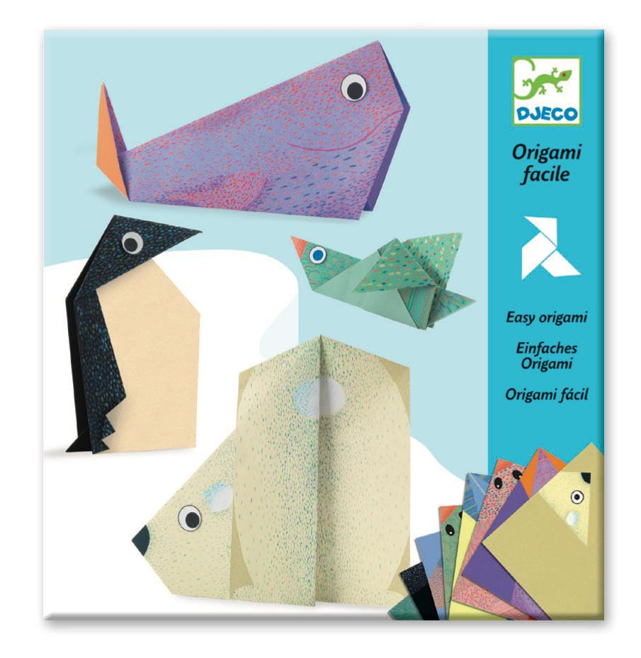 Djeco Origami - Polar Animals - Da Da Kinder Store Singapore