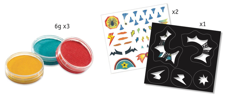 Djeco Make-Up Sets - Superheroes - Da Da Kinder Store Singapore