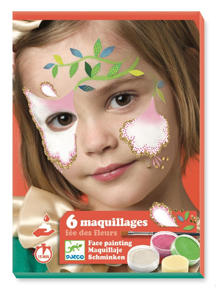 Djeco Make-Up Sets - Flower Fairy - Da Da Kinder Store Singapore