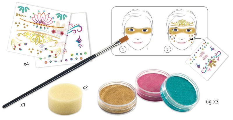 Djeco Make-Up Sets - Princess - Da Da Kinder Store Singapore