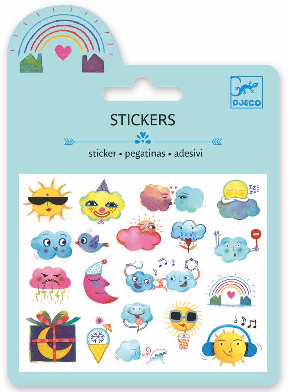 Djeco Mini Sticker - Meteo - Da Da Kinder Store Singapore