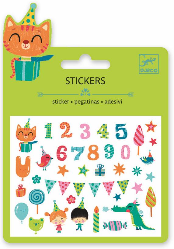 Djeco Mini Sticker - Birthday - Da Da Kinder Store Singapore