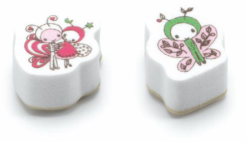 Djeco Mini Stamps - Ladybirds And Butterflies - Da Da Kinder Store Singapore