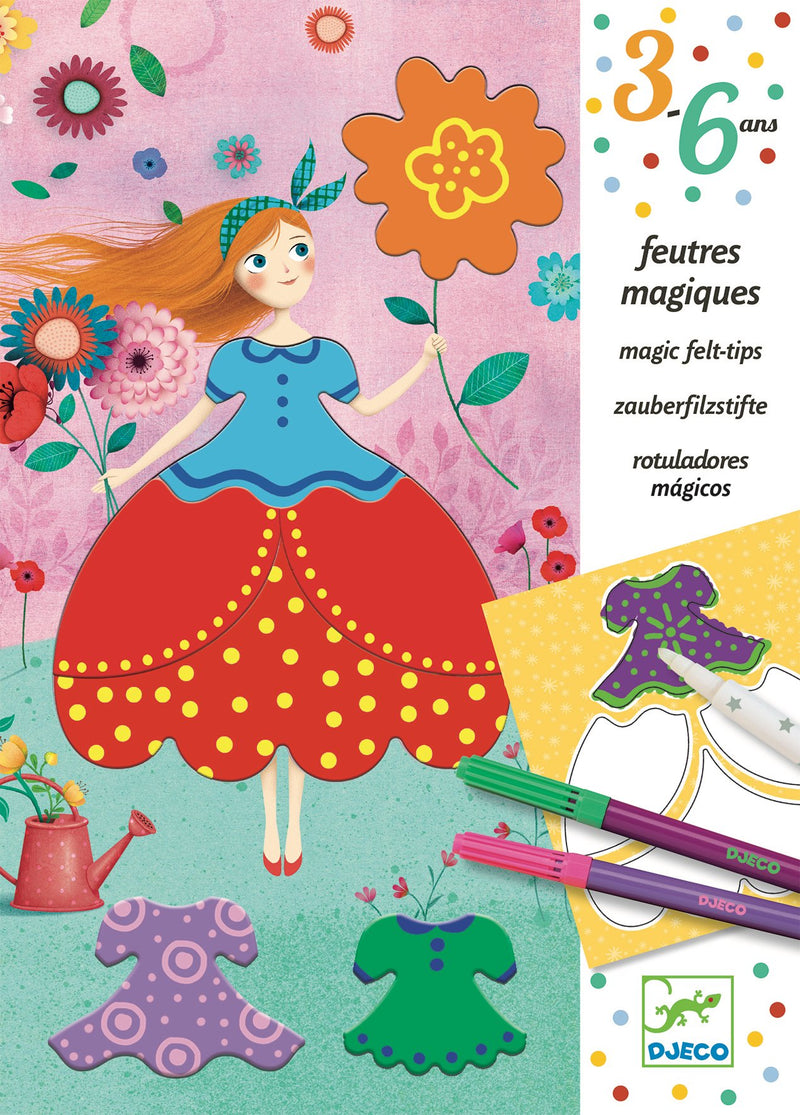 Djeco Couleurs - Marie's Pretty Dresses - Da Da Kinder Store Singapore