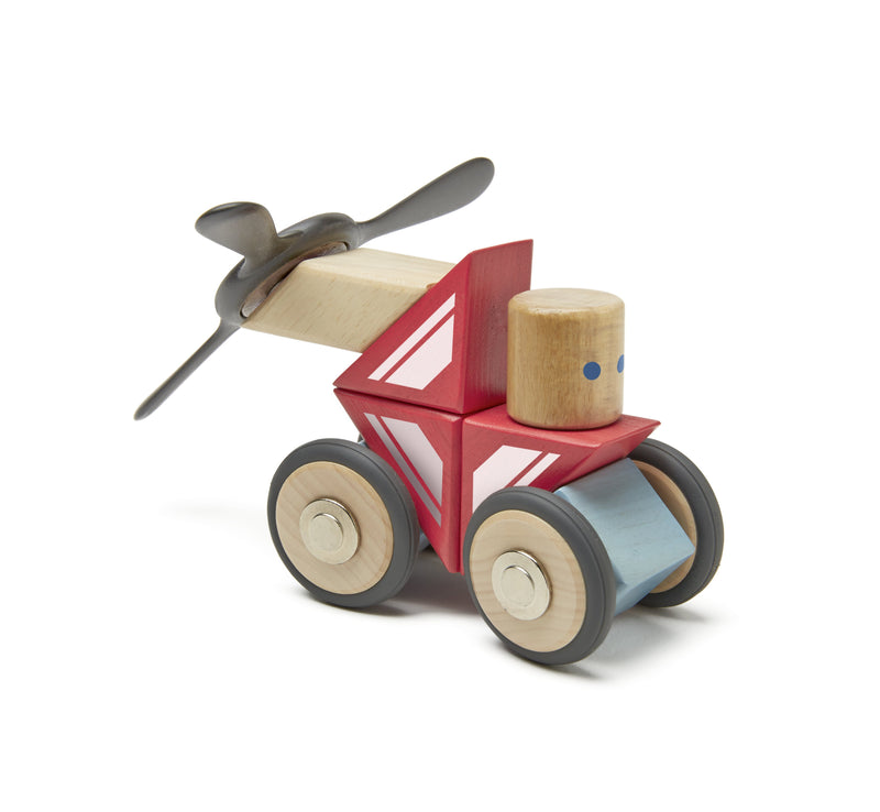 Tegu Dare Skyhook Magnetic Wooden Block (Pack of 17)