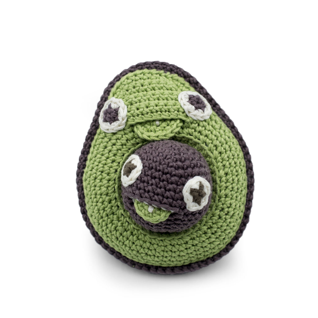 Myum Avocado Rattle