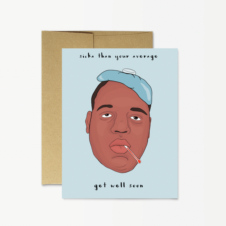 Greeting Cards - Get Well