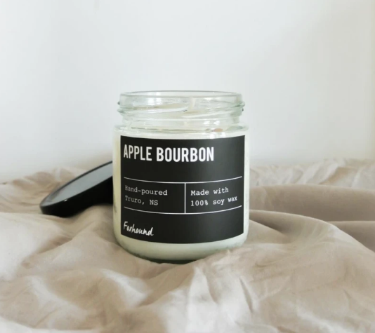 Apple Bourbon Candle