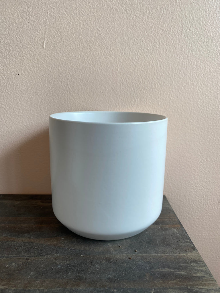 Matte White Ceramic Pot