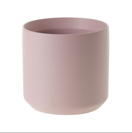 Matte Blush Ceramic Pot