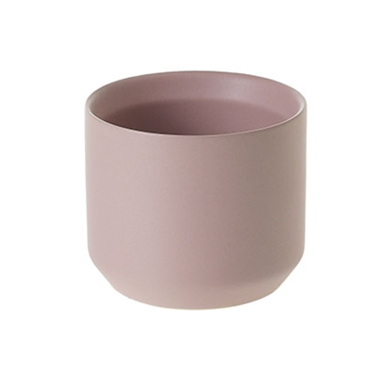 small Matte Blush Ceramic Pot