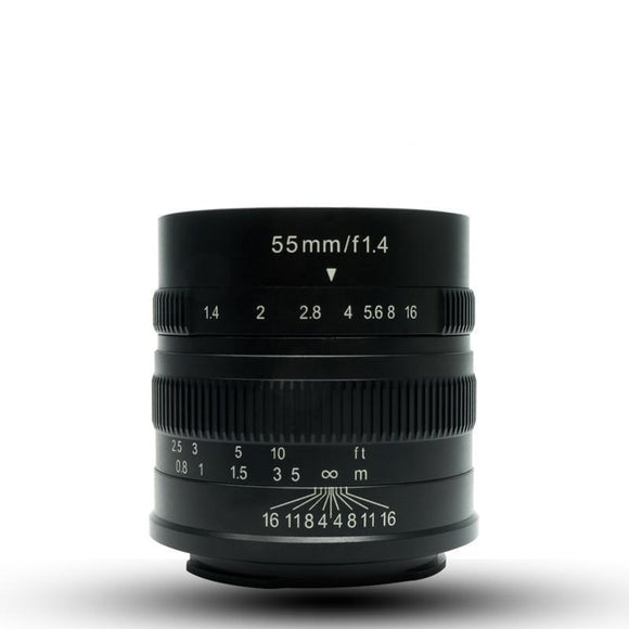 55mm F1.4 Large Focus Zoom
