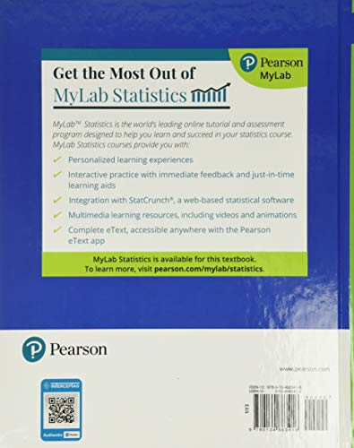 Elementary Statistics: Picturing the World Plus MyLab Statistics with Pearson eText -- 24 Month Access Card Package (What's New in Statistics)