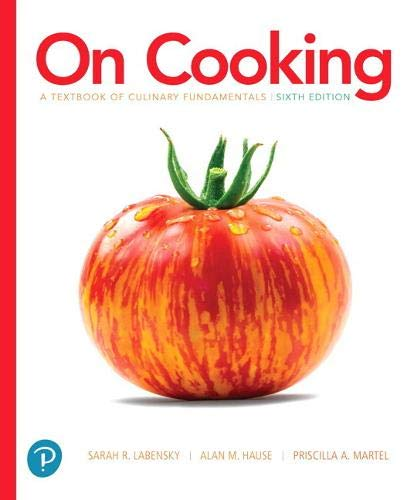 On Cooking: A Textbook of Culinary Fundamentals (6th Edition), Without Access Code (What's New in Culinary & Hospitality)